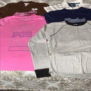 Girls size L shirts bundle💖